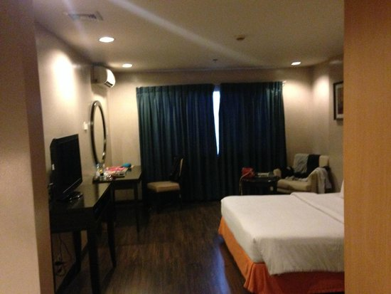 Baguio Burnham Suites Hotel : Deluxe with Park View