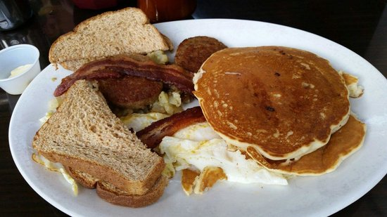 The Stuffed Pig : The Pigs breakfast. Awesome!
