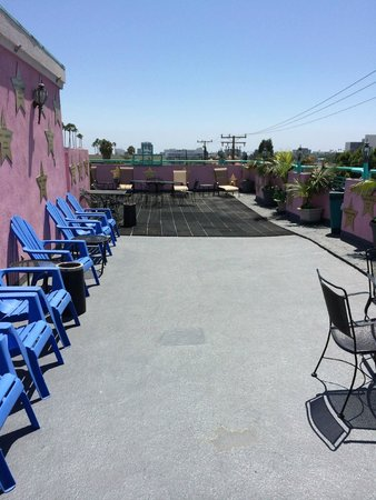 Days Inn Santa Monica/los Angeles: Roof Deck
