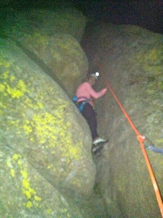 Devils Tower Lodge: A little night climbing