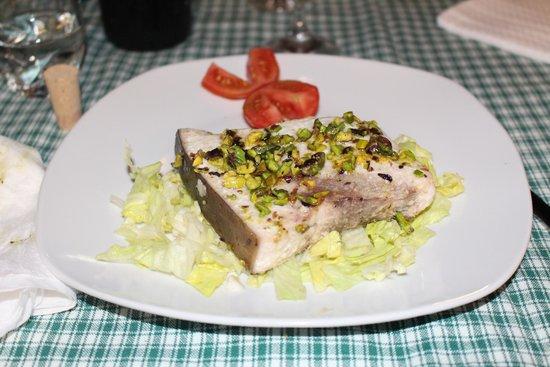 Agriturismo Il Gelsomino Ritrovato : pesce spada ai capperi
