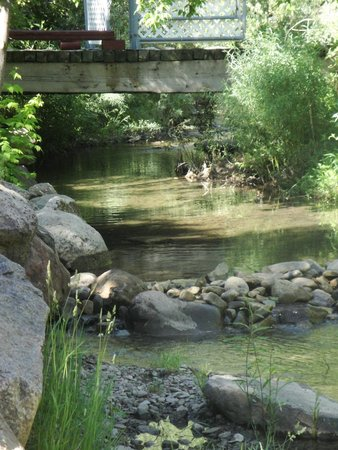 Lightner Creek Campground: The creek