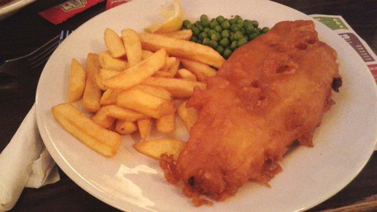 Whole In the Wall: Fish and chips!