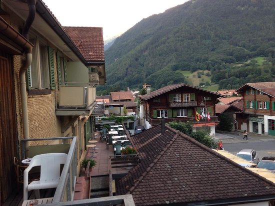Hotel Bären: The view from room 26