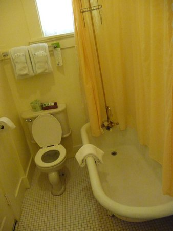 Big Trees Lodge: bathroom