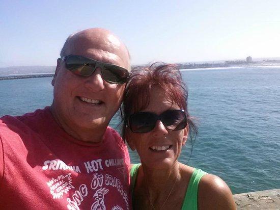 Ocean Beach Hotel: On the pier