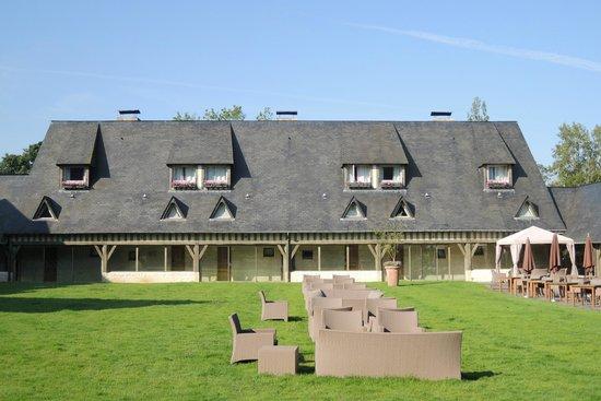 Les Manoirs de Tourgéville : Côté chambre