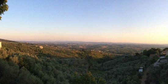 Il Castaldo: Panorama Terrazza Castaldo