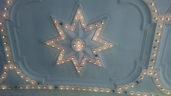 Ohio Theater: outside lights