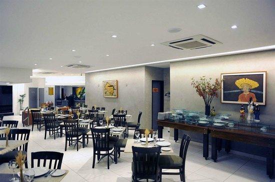Monte Pascoal Praia Hotel Salvador : Área de Jantar, uma ambiente super agradável