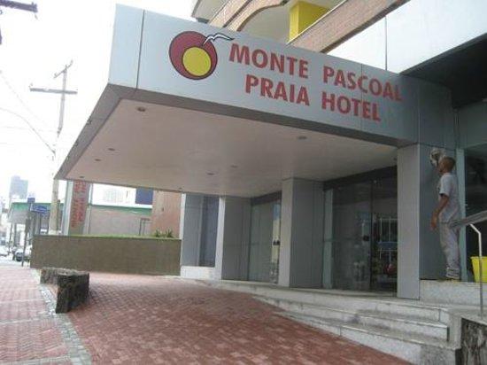 Monte Pascoal Praia Hotel Salvador : Entrada do Hotel