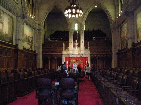 Colline du Parlement : Senate
