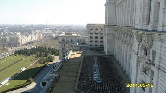 Palace of Parliament: the view