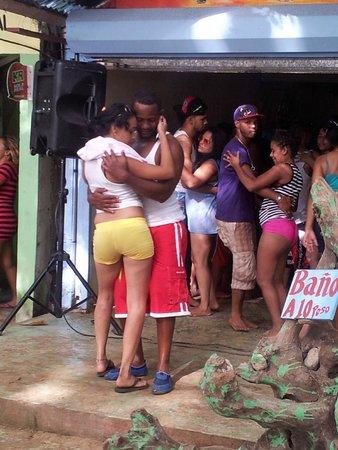 Iberostar Costa Dorada: Hanging out at Sosua Beach