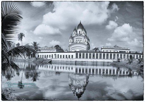 Dakshineswar Kali Temple: Panoramic view of the temple