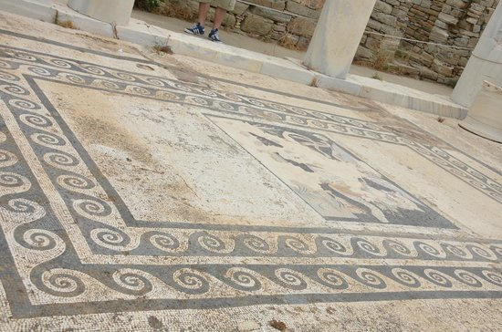 House of Dionysus : Mosaic floor