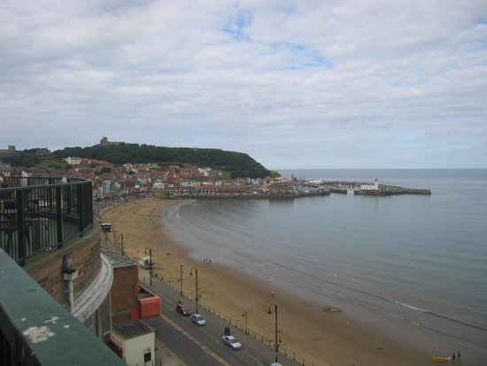 Grand Hotel Scarborough : view north from hotel terrace - there are good things to say too!