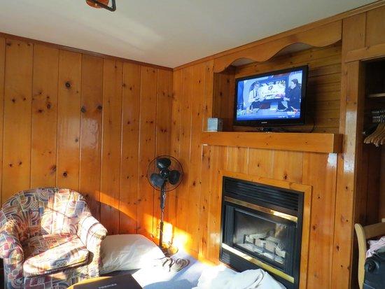 Becker's Roaring River Chalets: living room