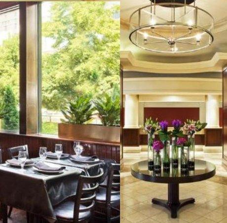 Radisson Hotel Baltimore Downtown-Inner Harbor: Resting/Breakfast area and Lobby