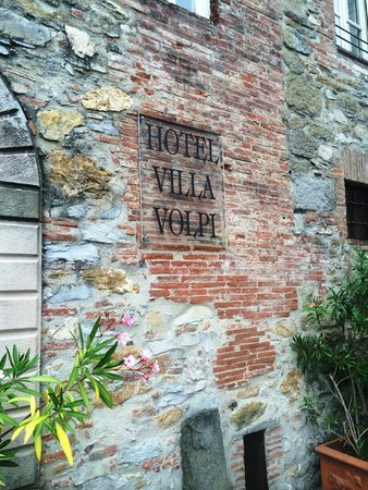 Hotel Villa Volpi : Sign