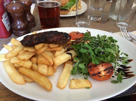 Lamb & Flag: rump steak
