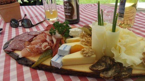 Pontresina, Suiza: Teller
