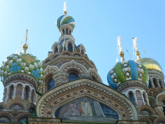 SPB Tours : Church of Our Saviour on Spilled Blood