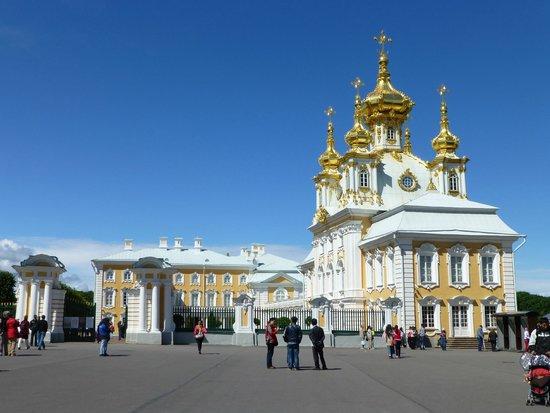 SPB Tours : At Peterhof Palace