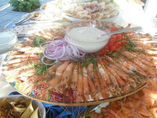 Alexandra Plaza: Un buffet favoloso