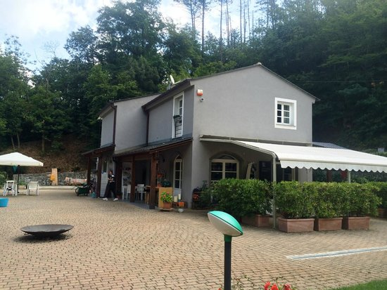 Hotel Abetaia : Breakfast/reception area