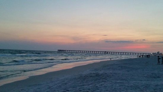 Grand Panama Beach Resort : sunset