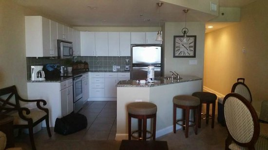 Grand Panama Beach Resort : kitchen 1 bdrm