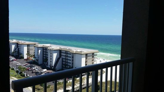 Grand Panama Beach Resort: gulf front view