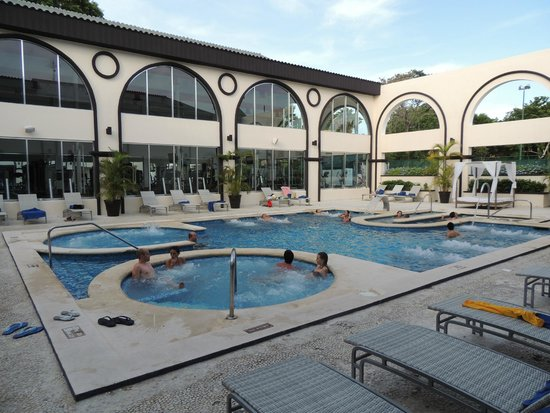 Sandos Playacar Beach Resort: hidroterapa