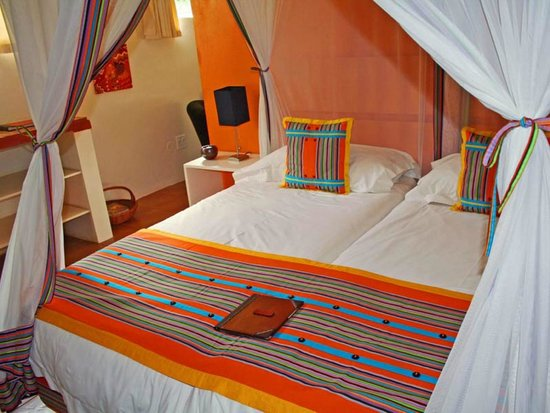 Madi a Thavha Mountain Lodge: Bedroom