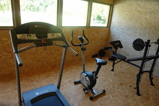Chateau la Mothe Charente: salle de sport