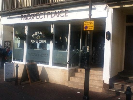 Prospect Plaice: front view