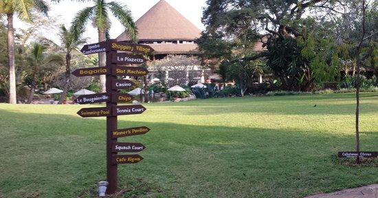 Safari Park Hotel: Jardim