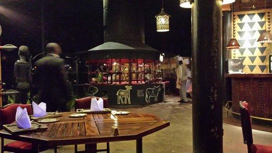Safari Park Hotel : Restaurante
