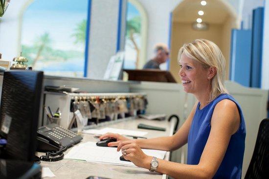 Hotel Belsoggiorno Sanremo : Reception