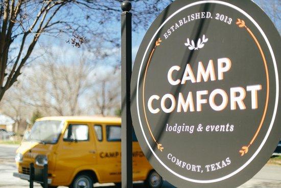 Camp Comfort Boutique B&B : Camp Comfort