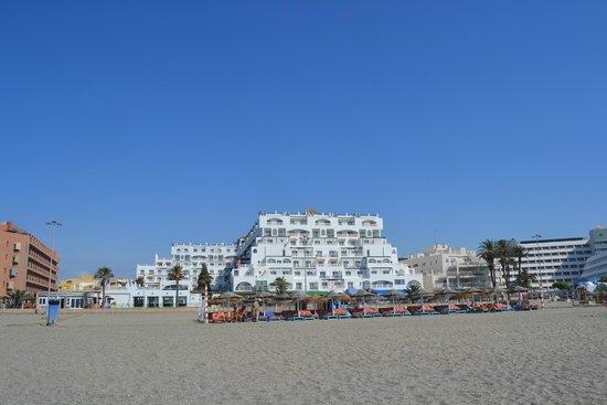 Hotel Bahia Serena: Desde la playa