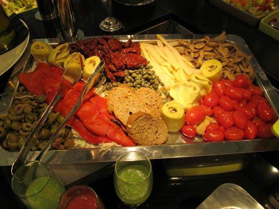 Princess Andriana Resort & Spa : Italienischer Abend im Hauptrestaurant