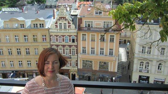 Hotel Eliska: Прекрасные Карловы вары