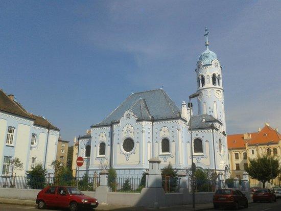 Hotel Devin: The blue church