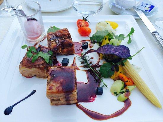 Hotel Interlaken: Amazing caramelized breast of veal (kalbbrust)