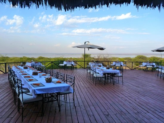 Lake Burunge Tented Camp : Dining