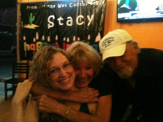 The Wet Cactus Cantina & Grill: Fun times