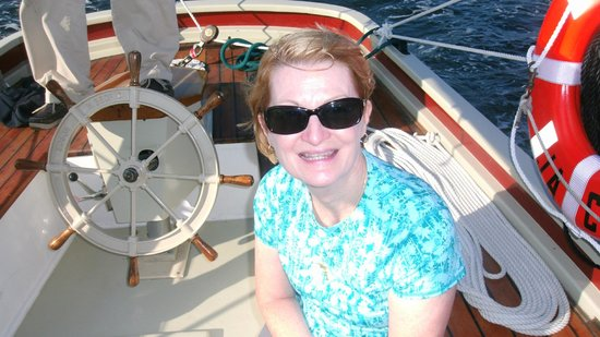Schooner Lazy Jack: My wife at the helm--a risky adventure