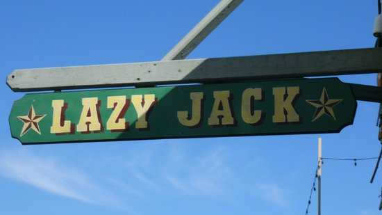 Lazy Jack : Sign for attraction